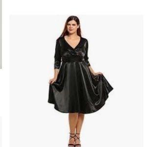 Women's Meaneor Plus Size Cocktail Dress